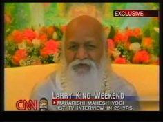▶ Exclusive - Maharishi on Transcendental Meditation - Larry King Live - YouTube