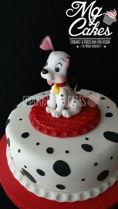 Dalmatian cake
