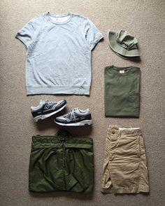 Today's Outfit. ↓ #ToddSnyder x #Champion S/S Sweat Shirts #GoodWear Pocket Tee #RRL Officers Chino Short 40's Vintage U.S.Army Cotton Twill Hat 70's Vintage U.S.Army #HelmetBag #NEWBALANCE #M1500 ↓ #OutFitoftheDay #OutFit #OutFitGrid #OOTD #DailyFashion #Vintage #Cordinate #Fashion #FashionPost #ファッション #コーディネート #トッドスナイダー #チャンピオン #グッドウェア #ラルフローレン #ニューバランス