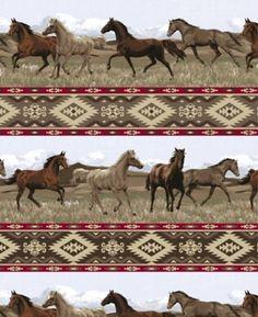 a4c9883f084 8 Best Horses Fleece Fabric images | Polar fleece, Fleece fabric ...