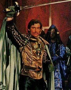 Timothy Dalton in Flash Gordon (1980)