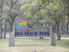 Huron County Parks - Oak Beach, Michigan