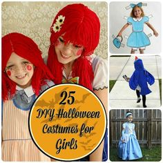 25 DIY Halloween Costumes for Girls