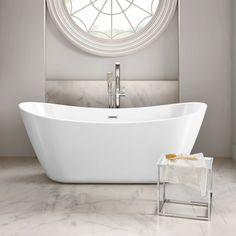 1830mmx710mm Caitlyn Freestanding Bath - Large Small Freestanding Bath, Contemporary Baths, Modern Baths, Bathroom Stand, Modern Bathroom, Big Bathrooms, Family Bathroom, Bathroom Ideas, Bathroom Vanities