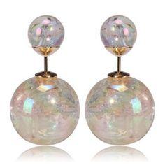 fashionista Earrings Blue Earrings Tribal Earrings Swarovski Earrings Fashion Earrings Gold Earrings Silver Earrings Limited Edition