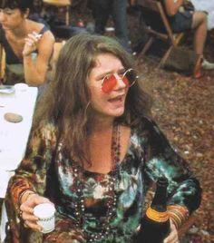 Janis Joplin em Woodstock, 1969