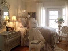 Our signature Carolyn Westbrook Home bedding.