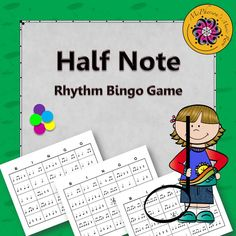 Eighth Note Rhythm Bingo Game Music Bingo, Bingo Games, Music Games, Learn Singing, Singing Tips, Piano Lessons, Music Lessons, Smart Board Lessons, Music Classroom