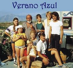 """Verano Azul"" (Blue Summer) was a Spanish TV series that was filmed from 1979 to then aired from late 1981 to early It had 19 one-hour long … Nostalgia, Cinema Tv, Old Tv Shows, Cartoon Tv, Yesterday And Today, Me Tv, Classic Tv, My Memory, Childhood Memories"