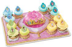 Disney Princess Royal Crown Signature Cupcake by ABirthdayPlace, $14.95