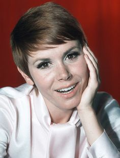 """Judy Carne;  remembered as the original """"Sock it to me"""" girl from the American comedy television show, 'Rowan & Martin's Laugh-In'"""