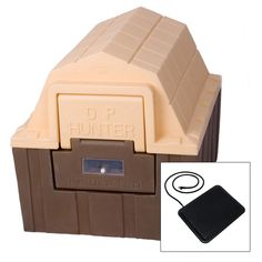 Have to have it. DP Hunter Dog House with Floor Heater - $177.55 @hayneedle