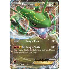 Pokemon TCG XY Roaring Skies Ultra Rare 60/108 Rayquaza EX Singles Unplayed NM