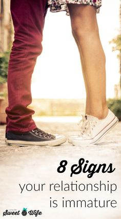 Ever find yourself embarrassed because you just couldn't help having that fight over text? Or maybe you found yourself trying to get your significant other to do something rather than just asking. I've been there. And I think you've been there, too. Here are 8 signs your relationship in immature and how to take the steps towards maturity. Saving A Marriage