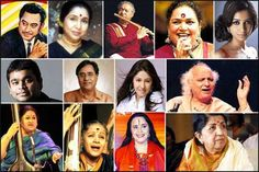 The Most Popular, Playback Singers Of Hindi Cinema : My List Of Top Favourites!