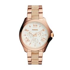 Fossil Cecile Rose Gold Watch for Sale in Gastonia, NC - OfferUp Stainless Steel Watch, Stainless Steel Bracelet, Swiss Made Watches, Fossil Watches, Watch Sale, Fashion Watches, Gold Watch, Bracelet Watch, Jewelry Watches