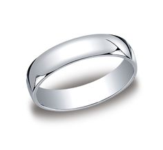 Men's 5mm Classic Benchmark Wedding Band Call for Price