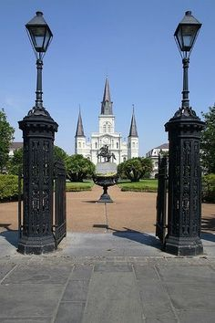 French Quarters, Lafayette Square, New Orleans, Louisina