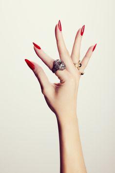 Hand Model Ashley Frey Natural Nails
