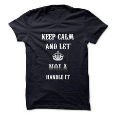 Keep Calm And Let NOLA Handle It.Hot Tshirt! - #university sweatshirt #sweater women. BUY NOW => https://www.sunfrog.com/No-Category/Keep-Calm-And-Let-NOLA-Handle-ItHot-Tshirt.html?68278