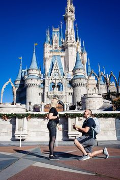 Places to Propose at Disney World   Orlando Proposal Photographer