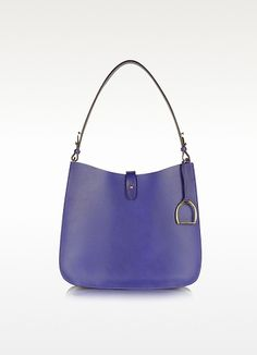 Ralph Lauren Saddle - Bolso Hobo de Piel