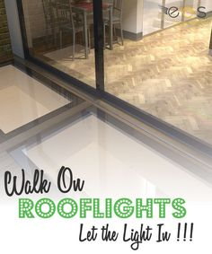 If you require more natural light in a basement but you still need to be able to walk safely above then Walk On Rooflights are a great solution. So whether you have a roof terrace that incorporates glass or a basement that would benefit from overhead light, we have the solution. #walkon #walkonglass #eosrooflights