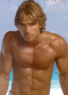 Another Brady candidate. We're getting closer on the hair and the water behind him really works.  Intimate Strangers, book one of the Pelican Cay Series.