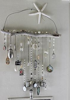 10 Knowing Simple Ideas: All Natural Home Decor Lights natural home decor diy etsy.Natural Home Decor Rustic Chandeliers natural home decor diy projects.All Natural Home Decor Lights. Beach Crafts, Fun Crafts, Diy And Crafts, Arts And Crafts, Candy Crafts, Upcycled Crafts, Carillons Diy, Easy Diy, Diy Wind Chimes