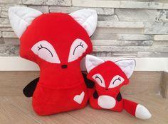 Lisa the Fox plush stuffed toy perfect present от RockysFriends