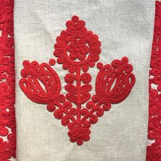 Hungarian Written Embroidery I — Tatter Chain Stitch Embroidery, Bead Embroidery Patterns, Folk Embroidery, Beaded Embroidery, Embroidery Stitches, Stitch Head, Last Stitch, Hungarian Embroidery, Creative Embroidery