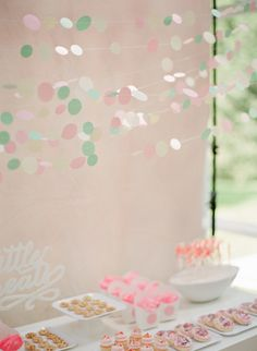 Paper circle backdrop: http://www.stylemepretty.com/living/2015/02/23/30-of-the-best-party-diys-ever/