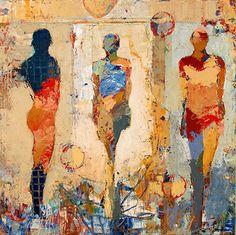 mixed media by Jylian Gustlin   Caelum: Figures