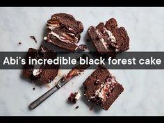 Chocolate-cherry sour cream cake | Woolworths TASTE