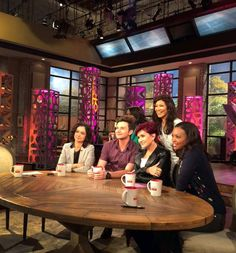 """Actor, singer and author Chris Colfer discusses his new book, """"The Land of Stories: Beyond the Kingdoms"""" with the ladies of """"The Talk,"""" Monday, July 20, 2015"""