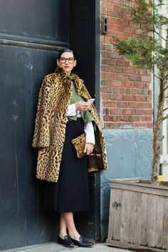Jenna Lyons Uses Leopard Print As a Neutral