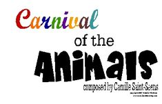 Saint-Saens Carnival of the Animals Coloring Book and Other Resources | Music Matters Blog