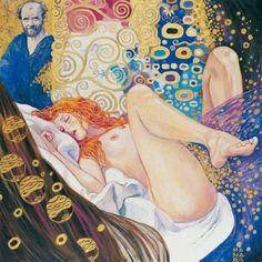 Klimt Tribute | Milo Manara