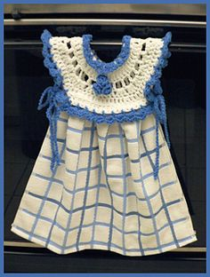allnineskr's Blueberry Oven Door Dress Kitchen Towel