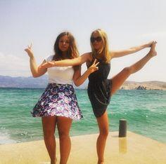 My fucking best friend . #fun #croatia #krk #bff #smile #swag #sea #good #time #sun
