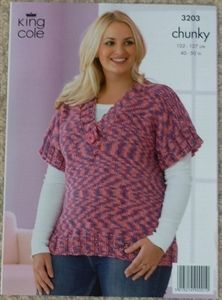 Knitting Patterns For Larger Ladies : Knitting: Plus sized articles. on Pinterest Drops Design, Alpacas and Lace ...