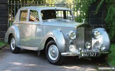 1954 Rolls-Royce Silver Dawn Saloon...my idea of a dream ride