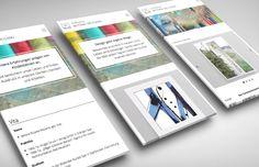 responsive Webdesign für Grafikdesign Bettina Weyland (2015) - Werbeagentur muto websolutions e.U. - Burgenland, Oberwart