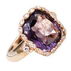 Athena Amethyst Ring - Ladies Jewelry