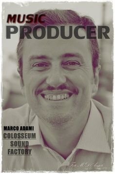 MARCO ADAMI MUSIC PRODUCER Movies, Movie Posters, Musica, Audio Studio, Films, Film Poster, Cinema, Movie, Film