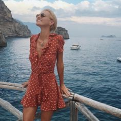 "Nadire Atas on Europe , Travel and Fun ""Vestidos Informales"" ~~Rosario Contreras~~ Looks Chic, Looks Style, My Style, Cute Summer Outfits, Summer Dresses, Flowy Dresses, Casual Outfits, Estilo Hippie Chic, Street Style Outfits"