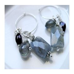 Sterling Silver and Gemstone Earrings