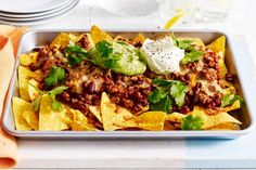 Tray baked nachos and more Low FODMAP recipes Fodmap Recipes, Diet Recipes, Cooking Recipes, Healthy Recipes, Fodmap Foods, What's Cooking, Yummy Recipes, Baked Nachos, Coles Recipe