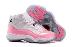 Women Air Jordan 11 GS Pink White For Girls Cheap Sale from Reliable Big Discount ! Women Air Jordan 11 GS Pink White For Girls Cheap Sale suppliers. Women Air Jordan 11 GS Pink White For Girls Cheap Sale and Nike Air Jordans, Jordans Girls, New Jordans Shoes, Pink Jordans, Cheap Jordans, Discount Jordans, Custom Jordans, Retro Jordans, Womens Jordans
