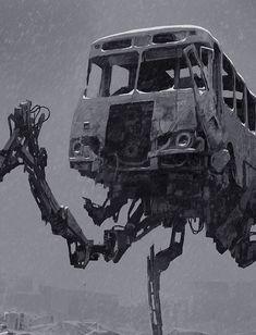 Concept art to ZONA TV series (based on the short science fiction novel written by Arkady and Boris Strugatsky), 2015 Demons, Civilization, Cyberpunk, Science Fiction, Monsters, Tv Series, Concept Art, Novels, Behance